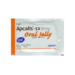 Kopen Tadalafil - Apcalis SX Oral Jelly Prijs in Nederland