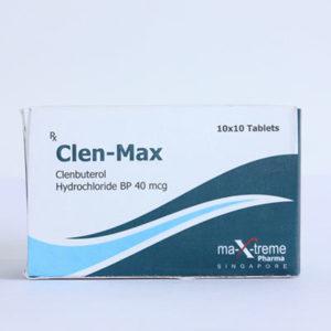 Kopen Clenbuterol hydrochloride (Clen) - Clen-Max Prijs in Nederland
