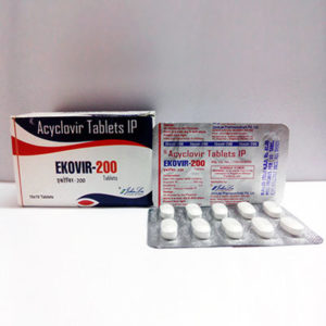 Kopen Acyclovir (Zovirax) - Ekovir Prijs in Nederland