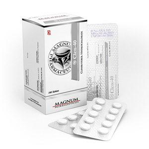 Kopen Clenbuterol hydrochloride (Clen) - Magnum Clen-40 Prijs in Nederland